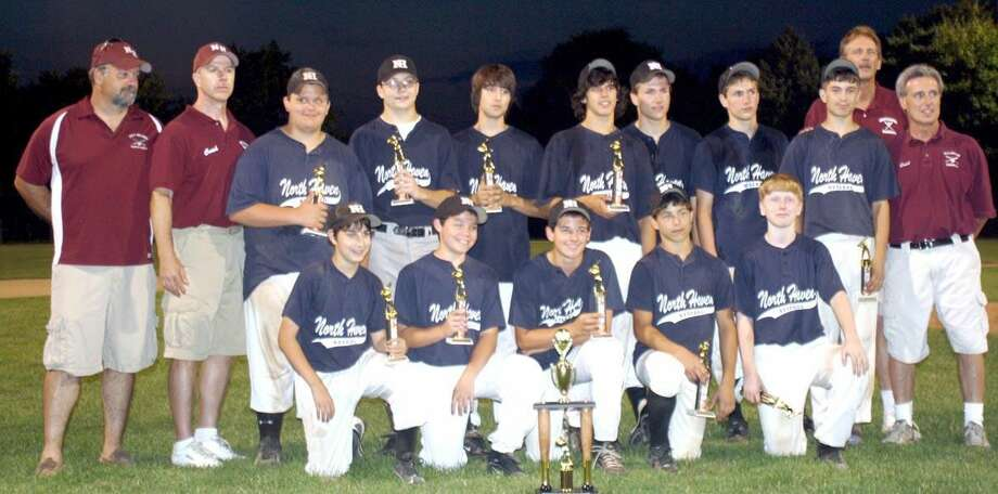 Submitted photo North Haven PBA recently won the North Haven Babe Ruth championship.