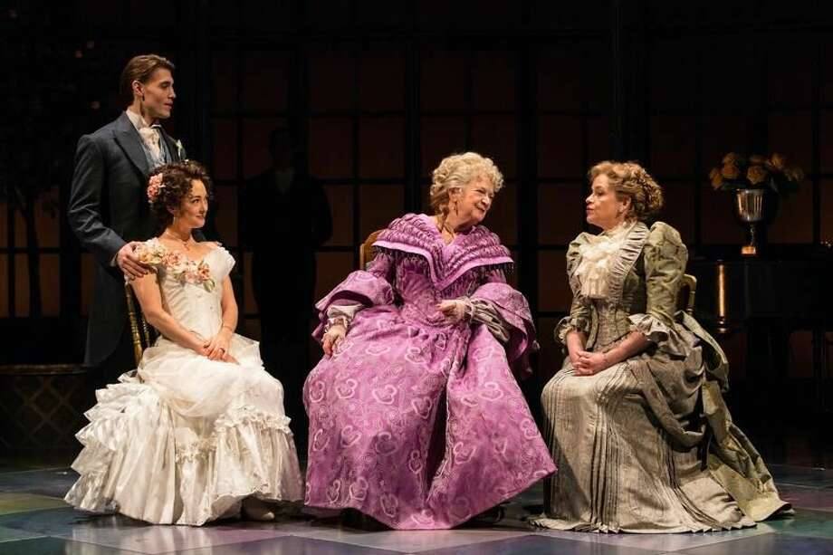 """Andrew Veenstra, Helen Cespedes, Darrie Lawrence and Deidre Madigan in """"The Age of Innocence."""""""