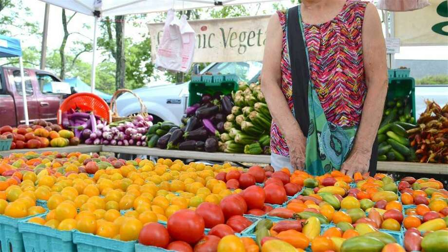 There will be lots of good food to choose from at the at the farmers markets.