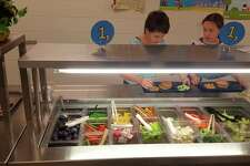 The10 Cents a Meal School Kids and Farms Program that was among the 147 items Gov. Gretchen Whitmer vetoed from the budget will have an impact on the Onekama, Kaleva Norman Dickson and Bear Lake school districts food service programs. They used those funds to purchase vegetable and fruit items for the breakfast and lunch programs. (File program)