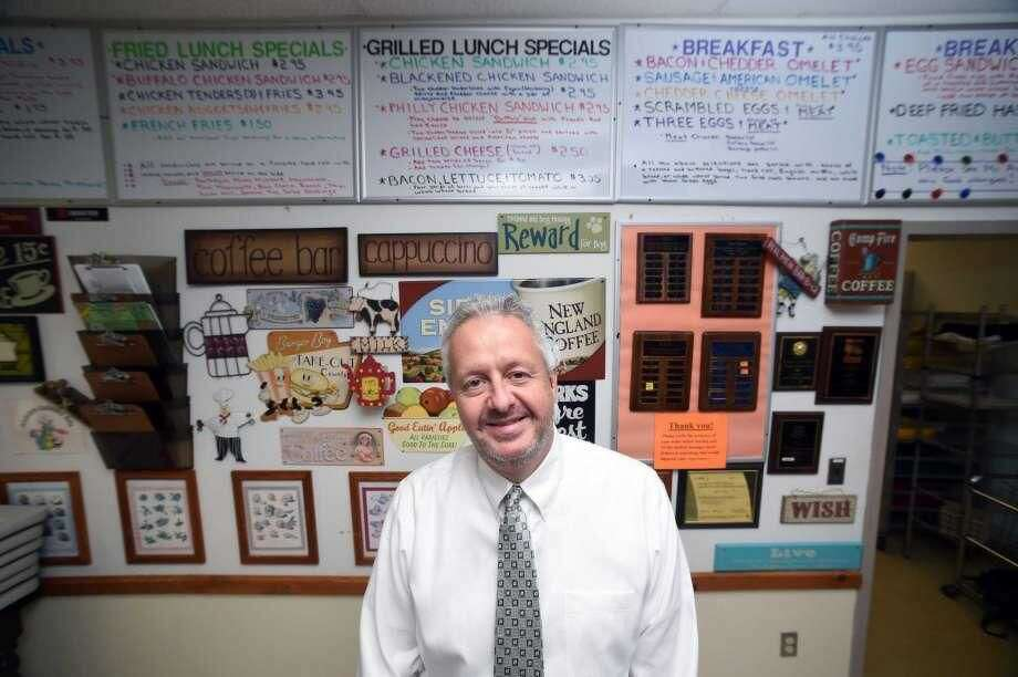 Hamden High School culinary arts teacher Gregg Amter was named Teacher of theYear by the Hamden Board of Education.