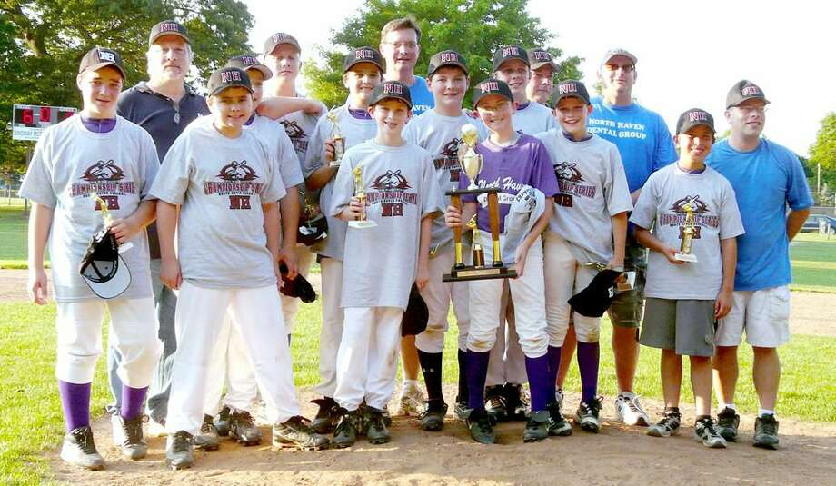 Submitted photo The 2010 Max Sinoway Majors champion North Haven Dental Group.