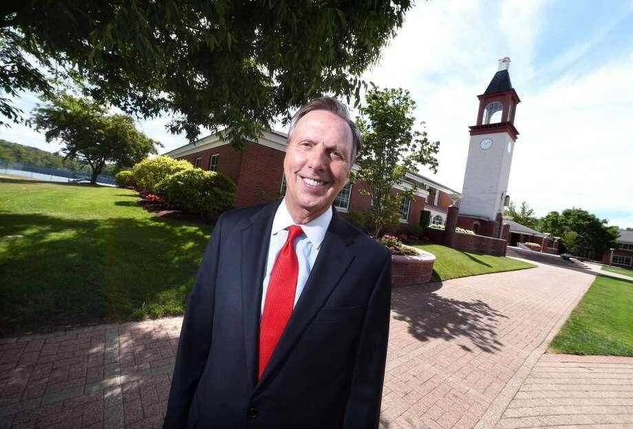 Then Quinnipiac University president John Lahey