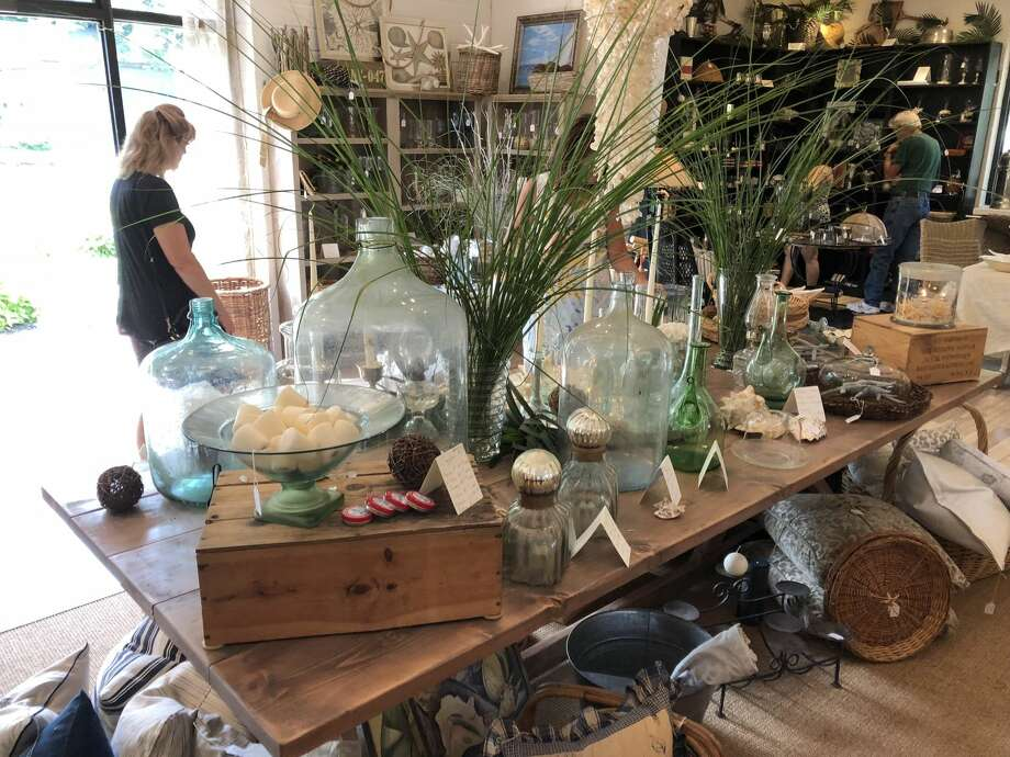 """Sue Kuselias and Jodee Webb recently opened Modern Thrift, their """"dream store,"""" at 3565 Whitney Avenue in Hamden."""