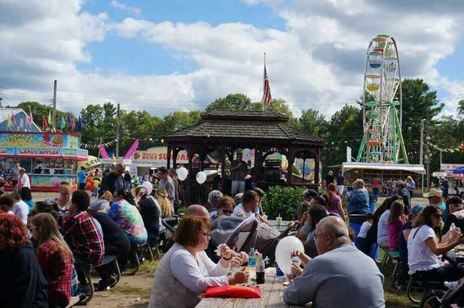 Crowds at a previous year's North Haven Fair.