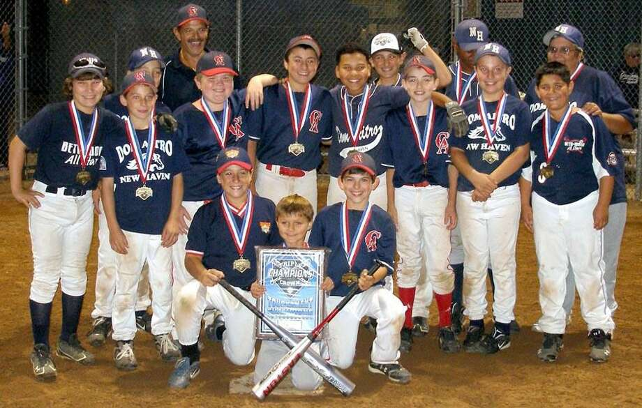 Submitted photo The CT Angels 12U fall baseball team opened the season with a Triple Crown Labor Day Tournament win in North Branford.