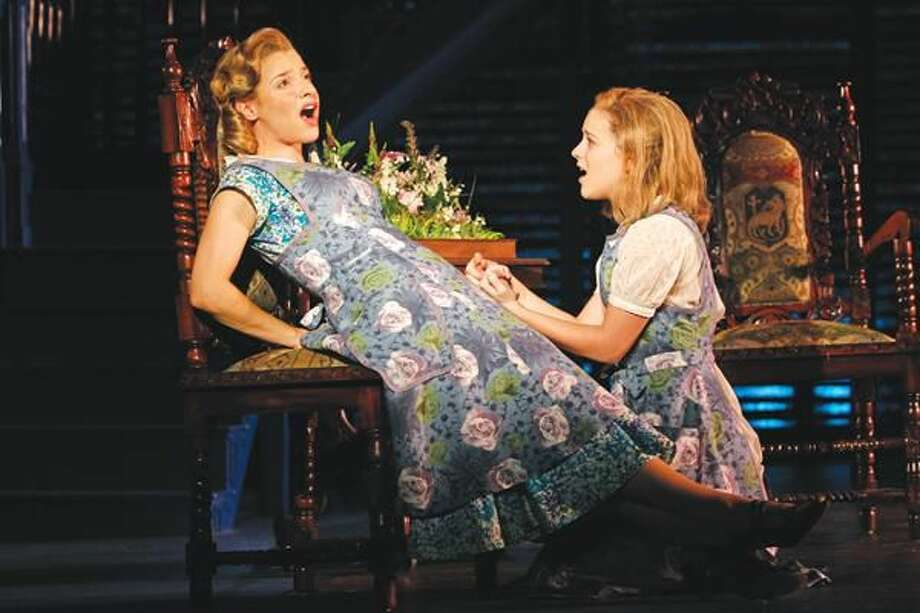"""Submitted Photo by Joan Marcus Jenn Gambatese as Constance and Alexandra Socha as Merricat in """"We Have Always Lived in the Castle"""" at Yale Reportary Theatre."""