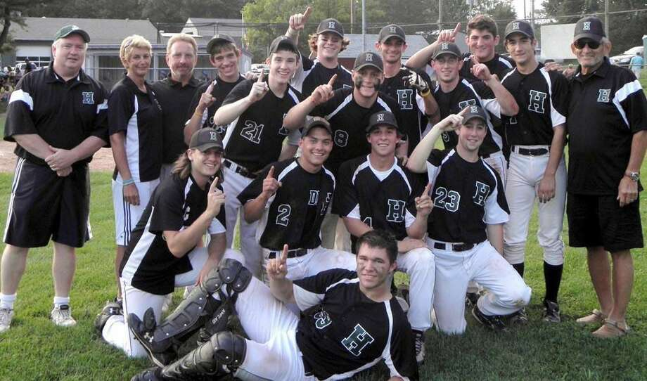 Submitted photo The Pat Mirto Senior Babe Ruth champion Greater Hamden baseball team.