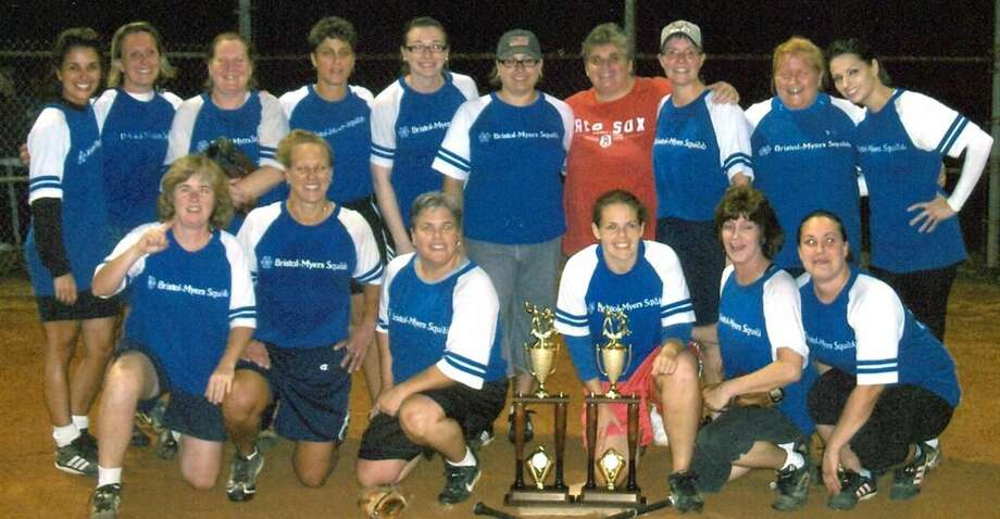 Submitted photo The 2010 Wallingford League and Division A champion Bristol-Myers Squibb softball team.
