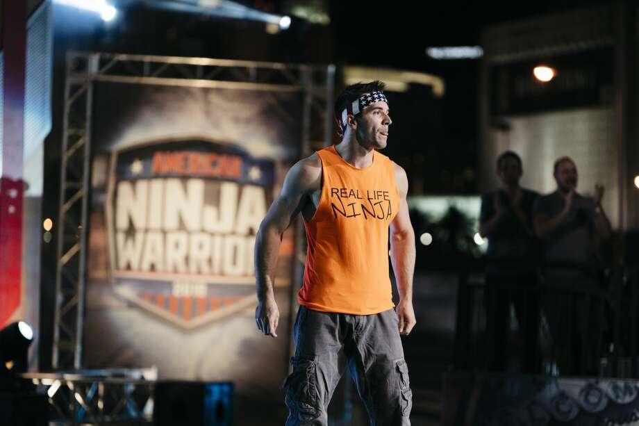"""Drew Dreschel competes on NBC's """"Last Ninja Standing."""""""