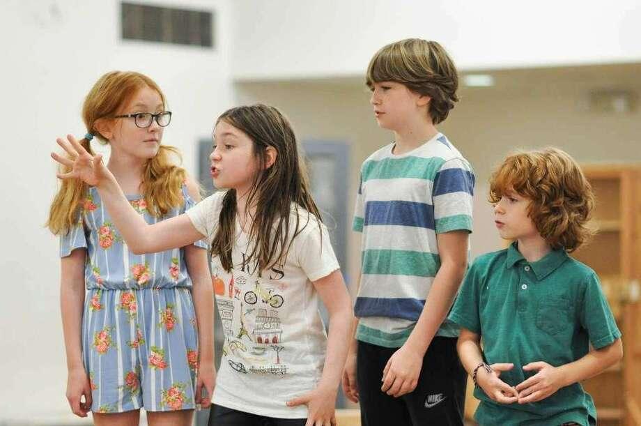 """From left, Sloane Wolfe, Alexa Skye Swinton, Roman Malenda and RJ Vercellone in """"Make Believe."""""""