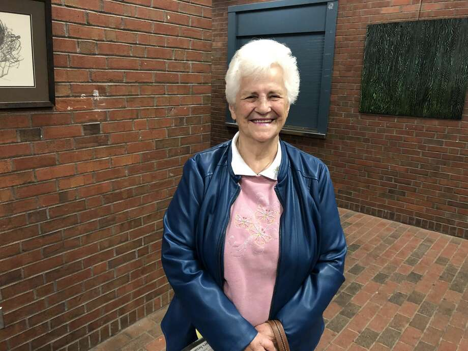 Hamden resident Anna Mulvey was celebrated for donating $30,000 to the town to provide for elderly residents.