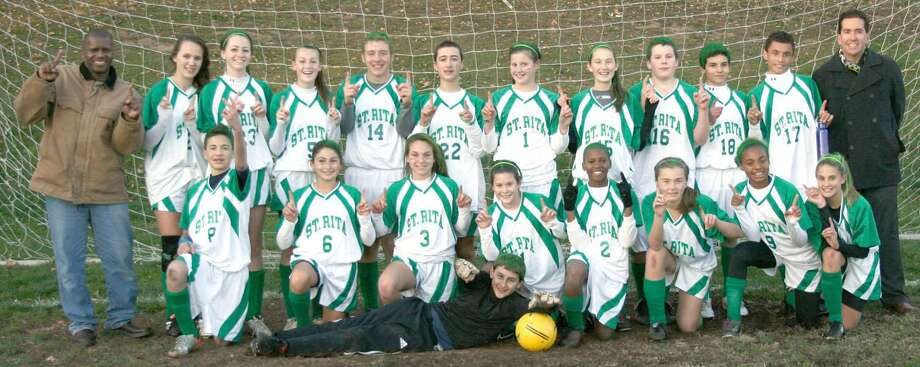 Submitted photo The St. Rita School girls' soccer team.