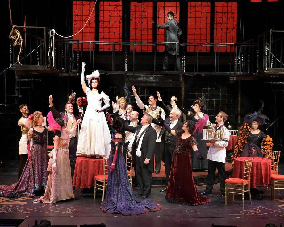 """A scene from """"Phantom"""" at the Westchester Broadway Theatre."""