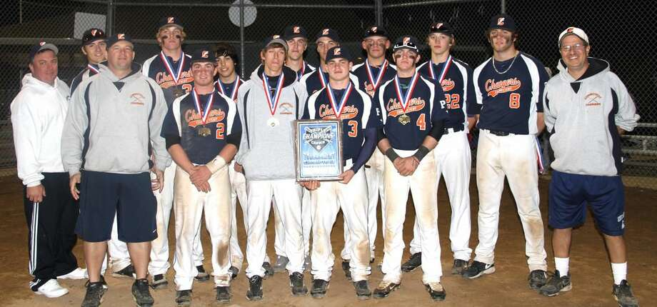 Submitted photo The Connecticut Chargers U-18 baseball team recently won the Triple Crown Columbus Day tournament championship.