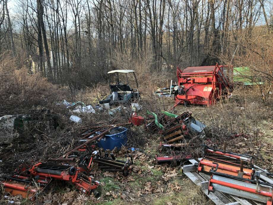 Equipment and other materials at Laurel View Country Club is being cleaned up and moved after public complaints were brought to the attention of operator Matt Menchetti.