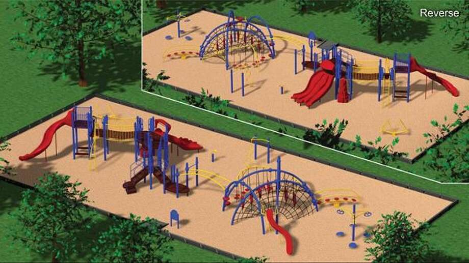 Submitted illustration shows the planned Spring Glen school playground.