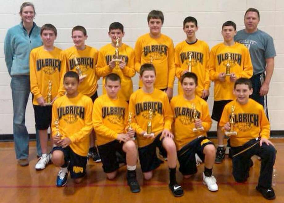 Submitted photo The Madison Thanksgiving Holiday Tournament champion Wallingford Ulbrich basketball team.