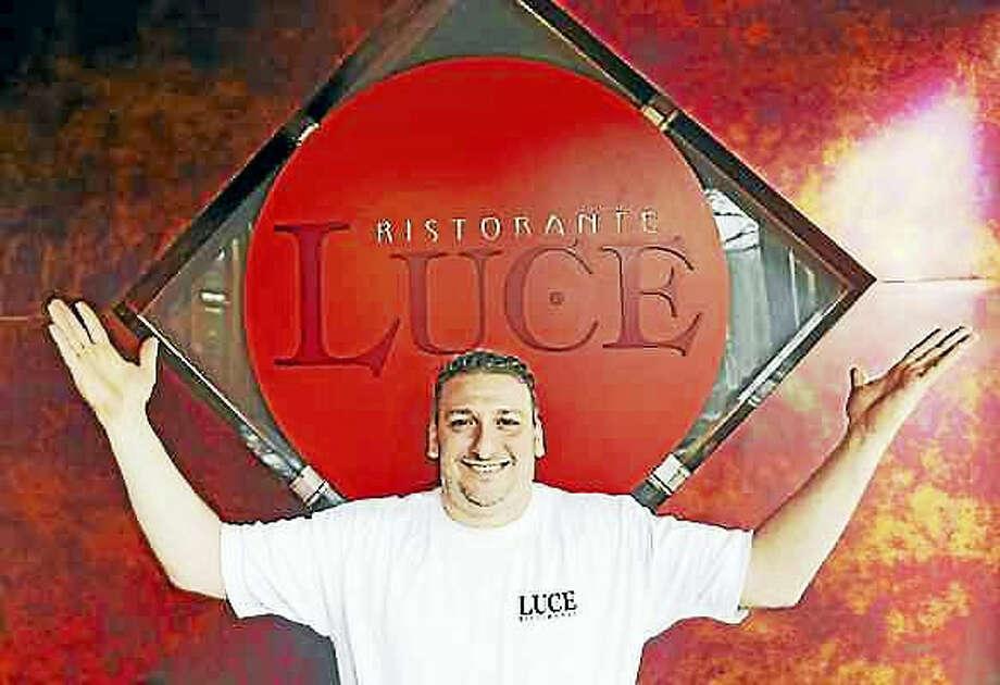 Peter Hvizdak — New Haven Register Paul Iannaccone, co-owner of Luce, a Hamden restaurant on Whitney Avenue in Hamden that is celebrating its 25th anniversary.