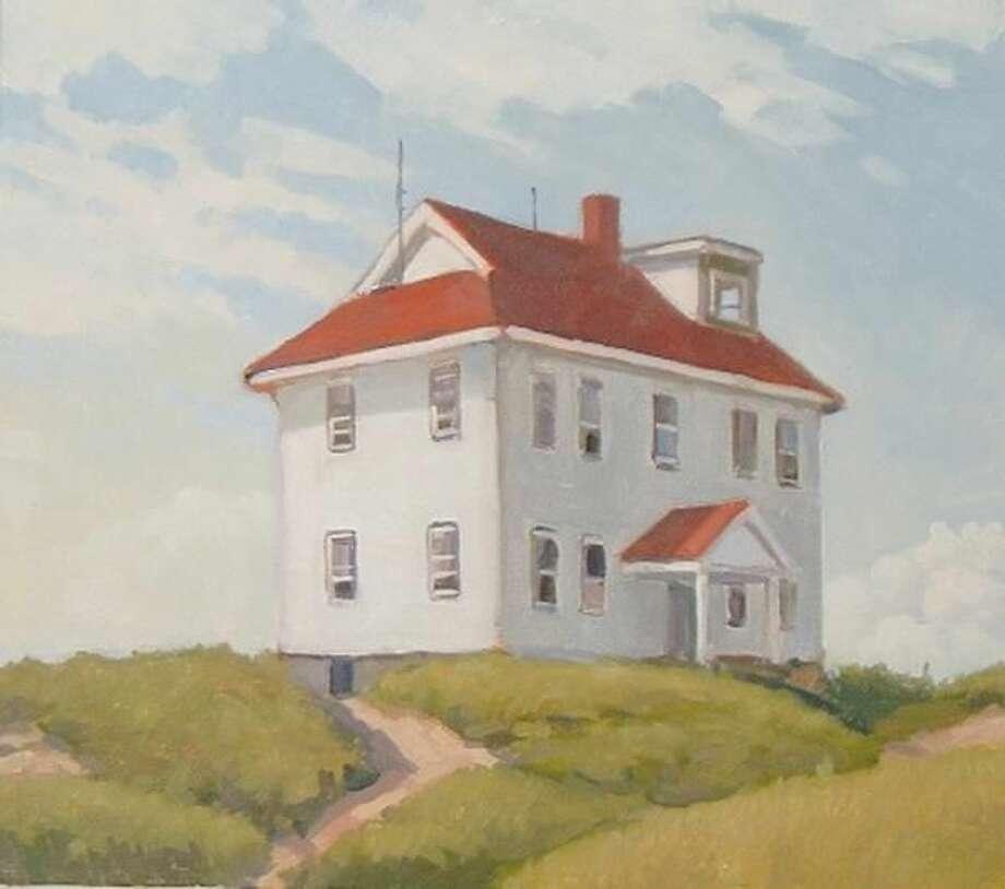 """Coast Guard Station,"" by William Meddick."