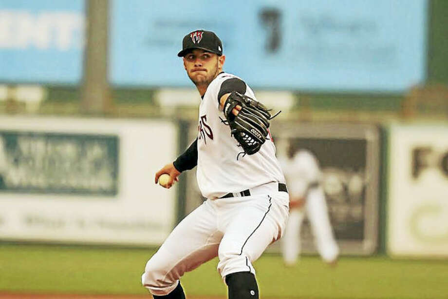Quinnipiac product Thomas Jankins is having a solid season for the Class A Wisconsin Timber Rattlers.