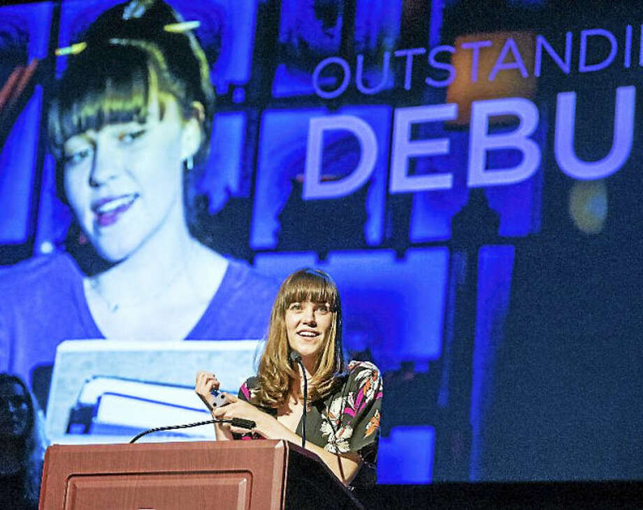 """Photo by Mara Lavitt. Actress Maya Kelcher was honored for her """"Outstanding Debut"""" in TheaterWorks' """"Next to Normal"""" at the recent Connecticut Critics Circle Awards."""