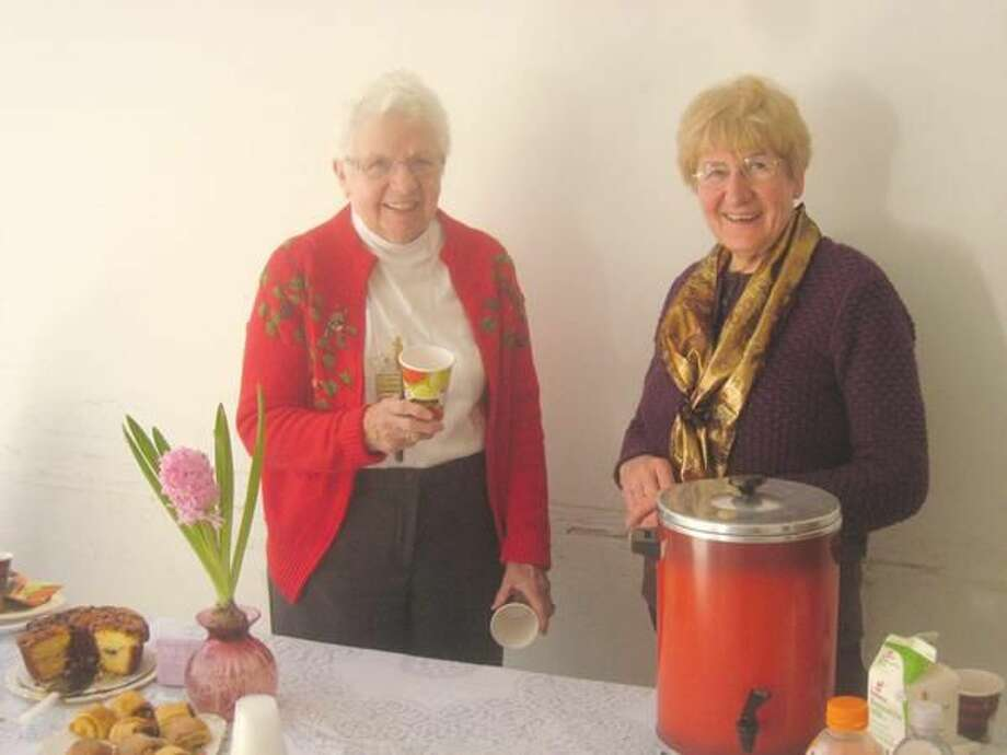 Submitted Photo President Ellie Harple (left) and Vice President Brenda Howlett.
