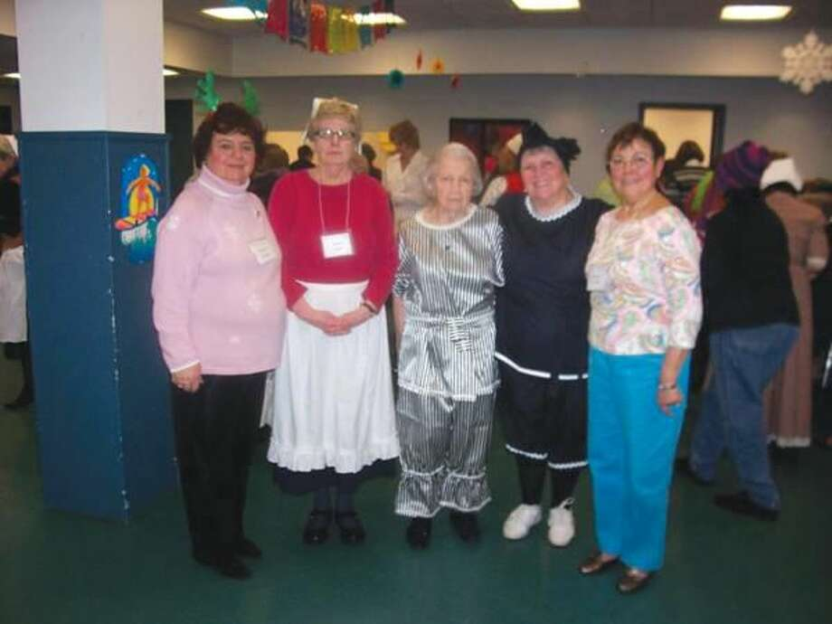 """Submitted photo Captains of the Hamden Women's Club """"Seasons"""" program from left to right: Barbara Aurora (Winter), Esther Smith (Fall), Florence Krukowski & Mary Jane Landino (Summer) and Annette LaVelle (Spring)."""