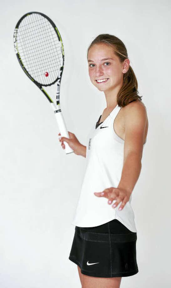 North Haven's Julia Migliorini is the Register's Area MVP for girls tennis.