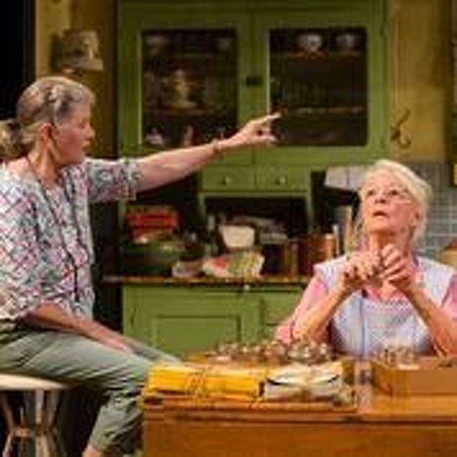 "Judith Ivey and Jane Alexander in ""Fireflies."""