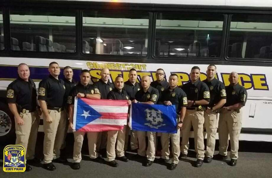 Gov. Dannel P. Malloy on Monday announced 13 Connecticut State Police troopers were deployed to Puerto Rico to assist in recovery efforts.