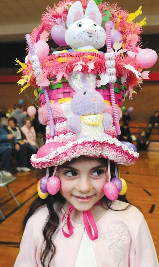 Photo by Mara Lavitt Paola Frunzio age 6 of North Haven sported the one she designed and shopped for (her family helped her build it).