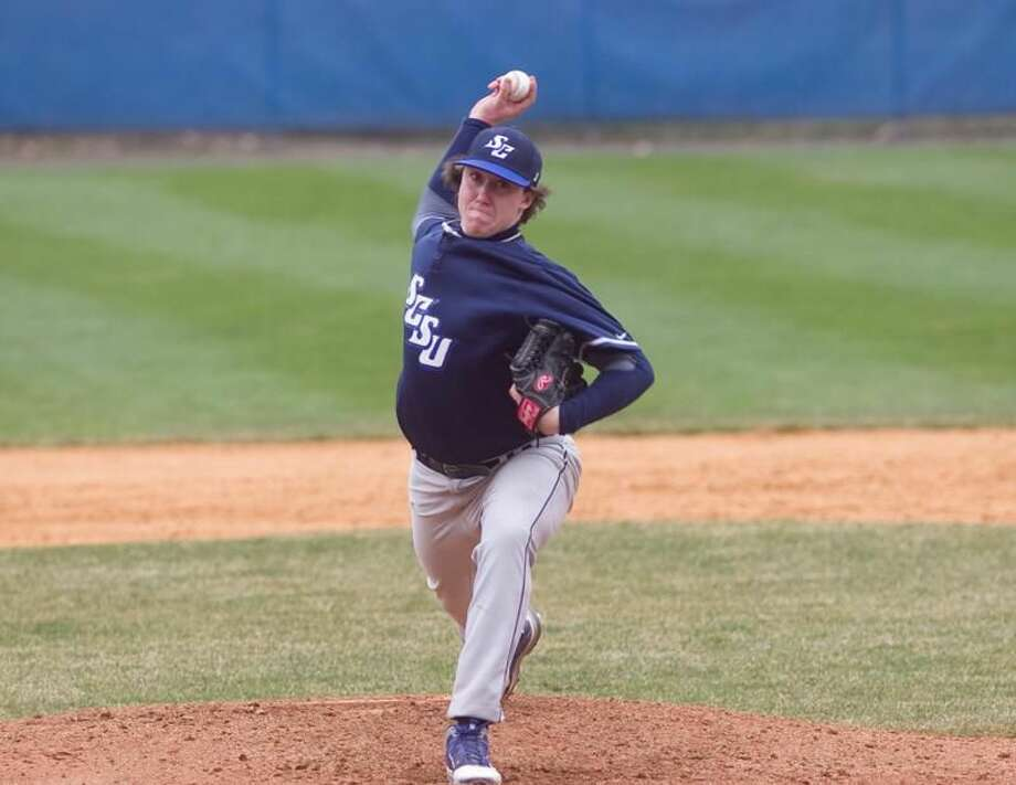 Southern Connecticut State pitcher Kevin Pettine. (Contributed photo)