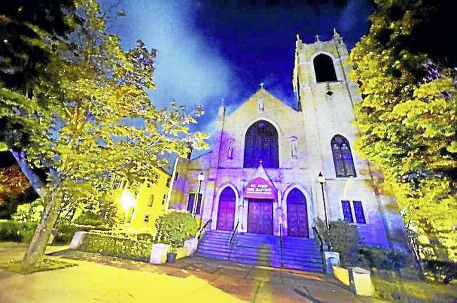 Peter Hvizdak - Hearst Connecticut Media. St. John the Baptist Roman Catholic Church at 782 Dixwell Ave. in New Haven.