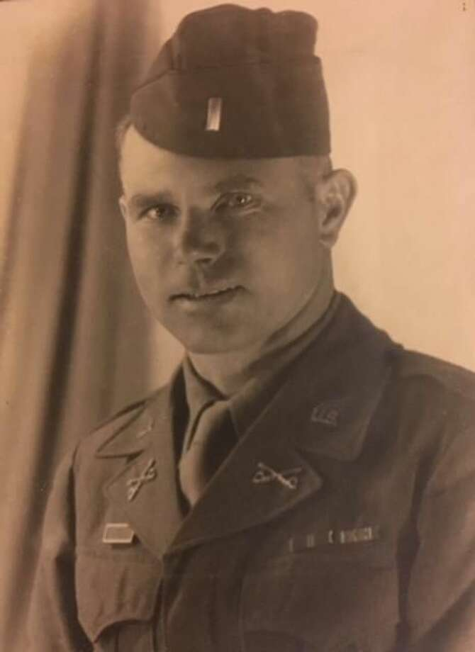 The Lt. Col. Robert Matheson, shown here in an earlier photo, was assigned to General Patton's 3rd army destined for the December 1944 Battle of Bastogne.