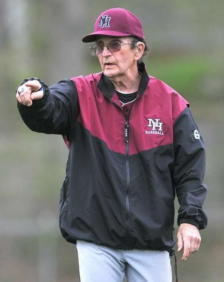North Haven baseball coach Bob DeMayo. (Brad Horrigan/Register)