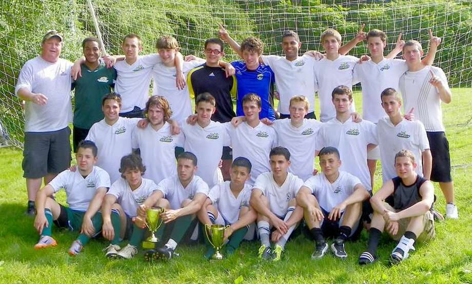Submitted photo The Hamden Soccer Association Boys' U-19 team won its second CJSA Connecticut Cup in three years with a 2-1 victory over Somers in the championship game.