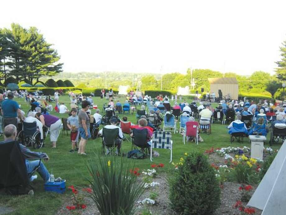 Submitted Photo Masonicare's free Summer Concert Series, held on the grounds of Masonicare Health Center, 22 Masonic Avenue in Wallingford, is in full swing.