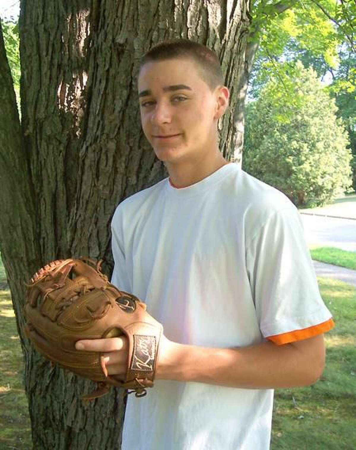 Submitted photo Matt Vitello needed only 61 pitches to complete his perfect game for the Wallingford Post 187 Junior Legion baseball team on July 9.