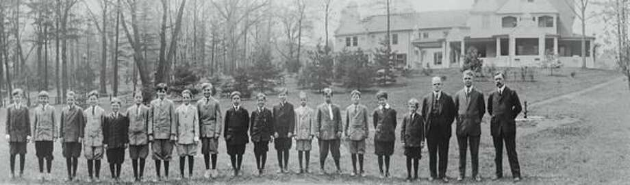 Submitted Photo Hamden Hall's class of 1912.