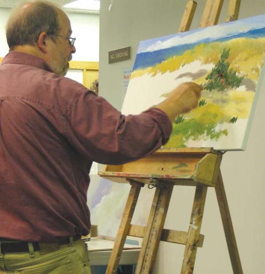 Submitted Photo Marlborough artist James Grabowski will be the guest of the Hamden Art League Sept. 13.