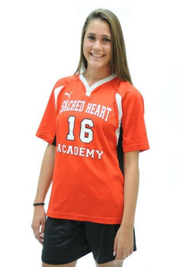 FEMALE ATHLETE OF THE WEEK: Alyssa Paolillo, Sacred Heart Academy, soccer. Photo by VM Williams.