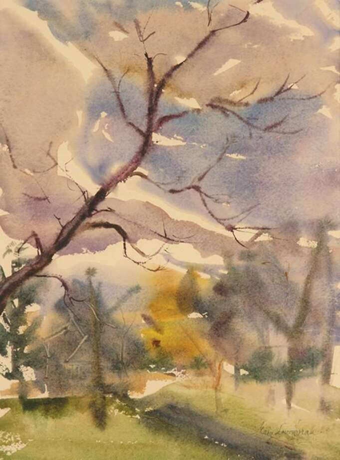 A watercolor by MaryLou Horan.