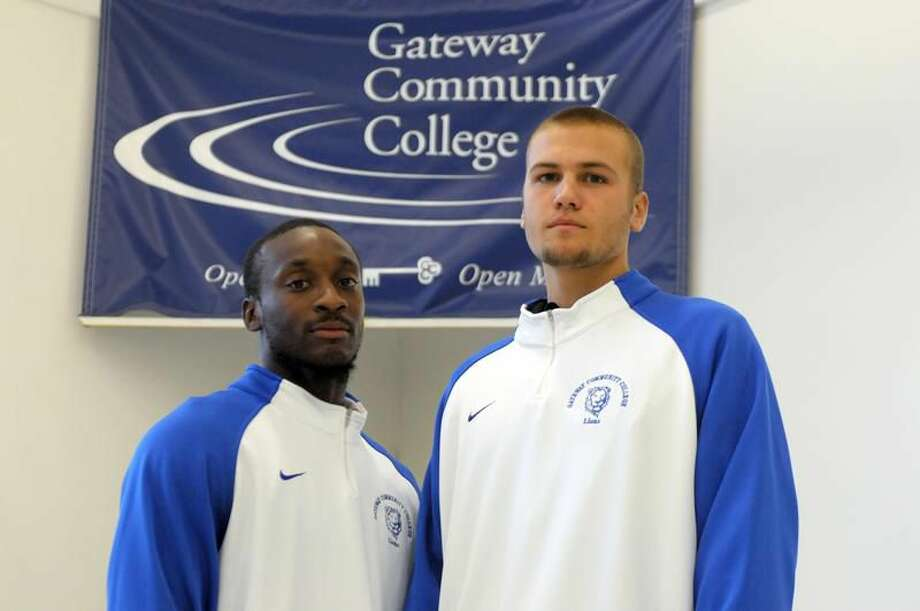 Contributed photo Gateway men's basketball captains Mario Darden, left, and Daniel Litevich.