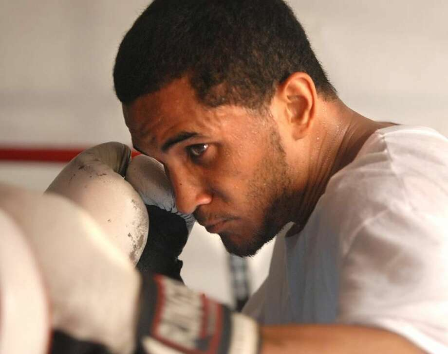 Elvin Ayala will face Miguel Hernandez on Saturday at the Mohegan Sun. (Peter Casolino/Register file photo)