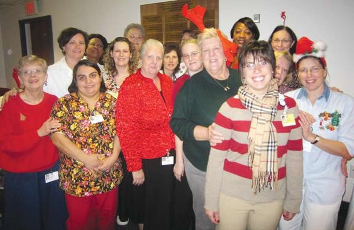 Staff Report The staff on Masonicare Health Center's Ramage 4 unit deserves special recognition for their contribution to Wallingford's Holiday for Giving Program. They successfully challenged themselves to surpass what they accomplished last year and kept their distinction as the unit that collected the most donations.
