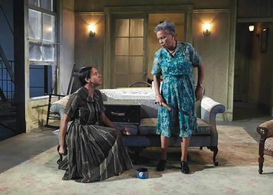 """Submitted photo by Lanny Nagler Krystel Lucas and Brenda Thomas perform in """"The Sty of the Blind Pig."""""""