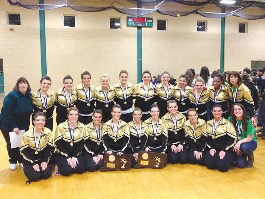 Submitted Photo The Hamden High School Dance Team after winning the state championship March 3 at Hamden High School.