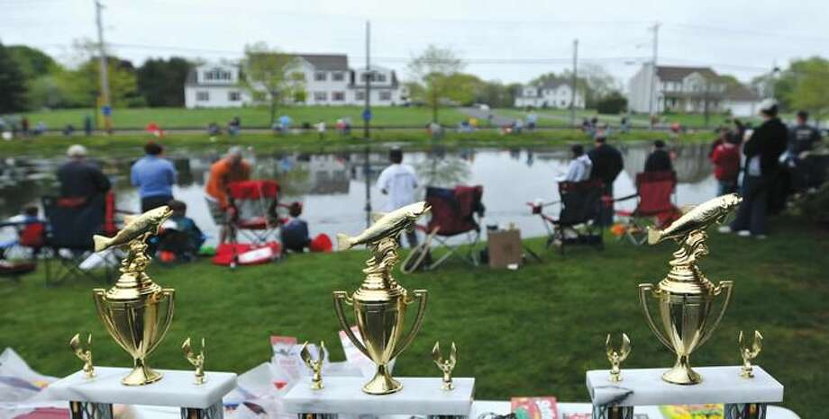 Photo by Peter Casollino The 19th Annual North Haven Fishing Derby, held at Sinoway Pond.