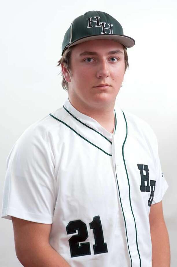 Hamden Hall pitcher TJ Linta Register Athlete of the Week. vm Williams 05.15.12